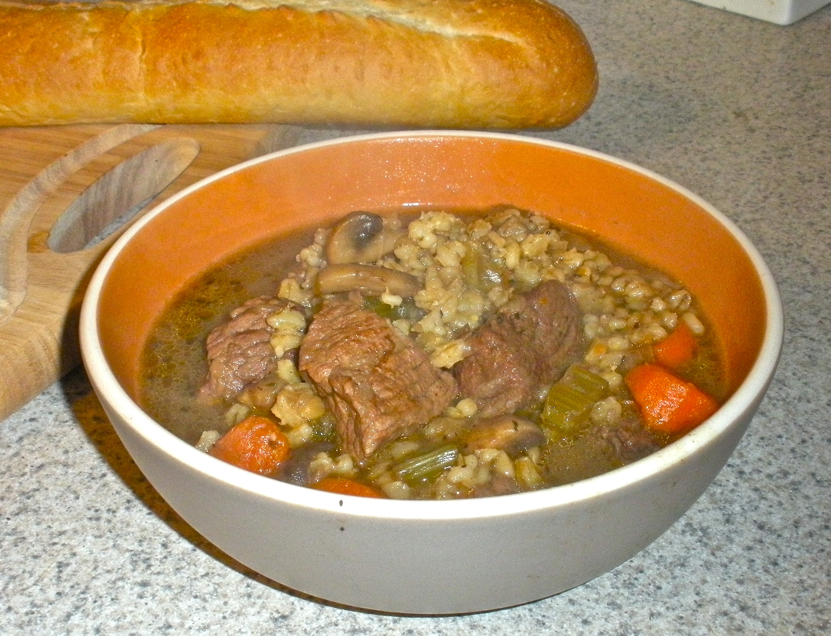 Beef and Barley Stew with Mushrooms and Aromatic Vegetables | Fork ...